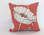 Faded Brick Red Linen Pillow Cover - ThePillowStudioShop