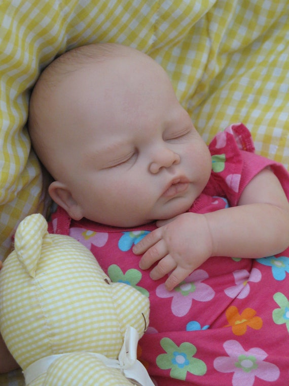 Reborn baby girl, heirloom doll, newborn, Baby Natalie ready to come home