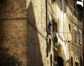 Laundry Day in Tuscany - 8X10 inch Signed Fine Art Photograph