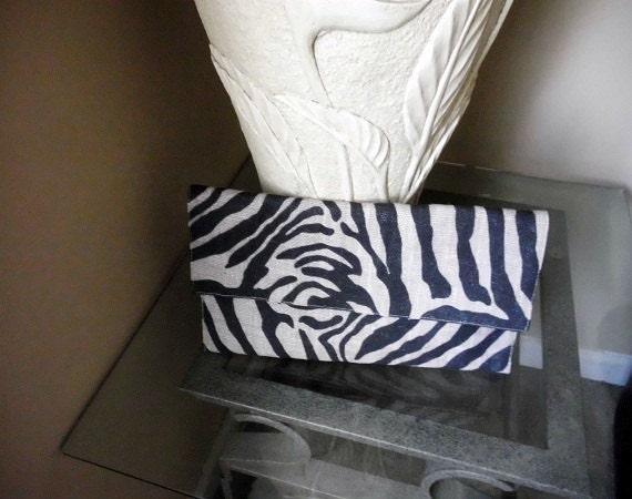 Zebra Print Shoulder Bag 79