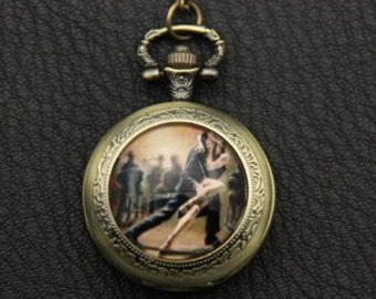 Necklace Pocket watch Tango