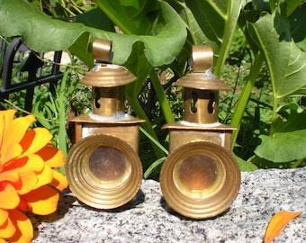 two tiny lanterns