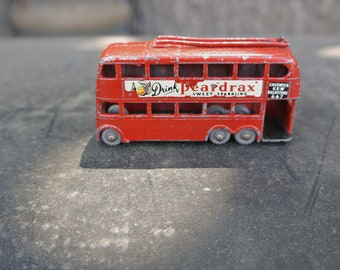 "Vintage 1960's Lesney ""London Trolley Bus"" Toy Car"