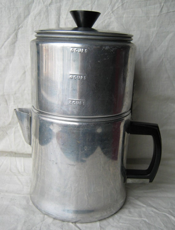 Vintage Enterprise Aluminum Co Dripolator Drip Coffee Maker