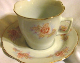 Remington By Red Sea Demitasse Cup and Saucer Great