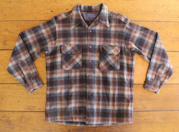 1970s Pendleton Long Sleeve Board Shirt - Size Large