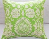 Pillow Slip over Amy Butler Sweet Pea & Cream 18x18 Slipcover
