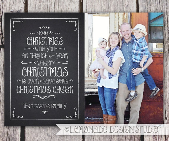 Custom Christmas Card Christmas card photo Photo Christmas