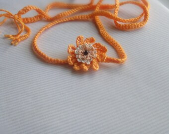 Orange Crochet Headband - Super Sale