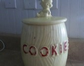 Vintage Brush McCoy Kitty Cookie Jar USA K26