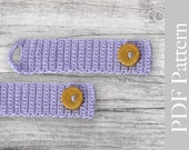 INSTANT DOWNLOAD - Crocheted Cuff
