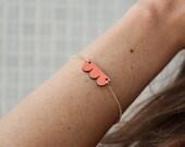 Apricot bracelet Cadoret