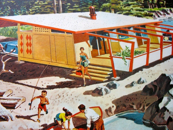 Vintage Mid Century Modern Vacation Homes Ideas Booklet