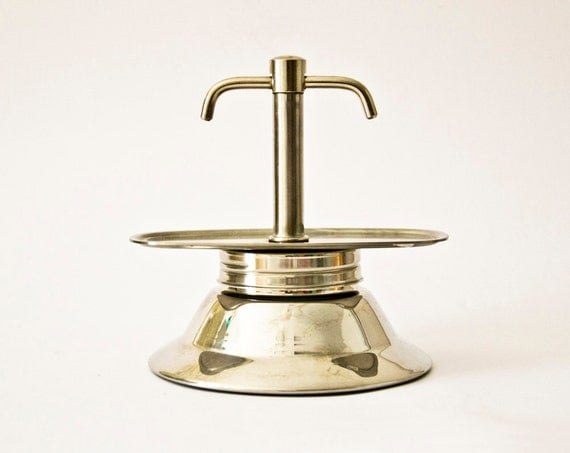 Italian Coffee Maker Stainless Steel : Vintage Italian coffee maker stainless steel
