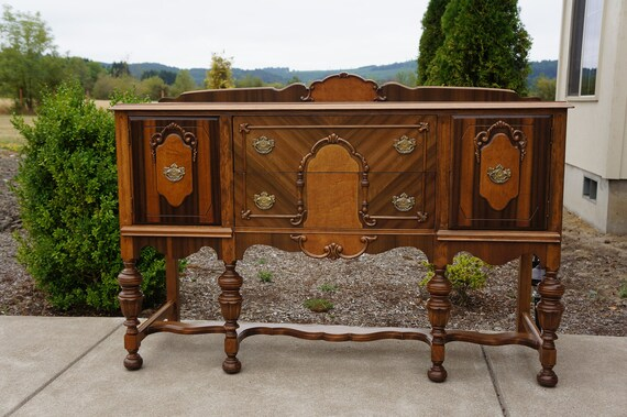 similar to Magnificent Antique buffet / Vintage server / Sideboard ...