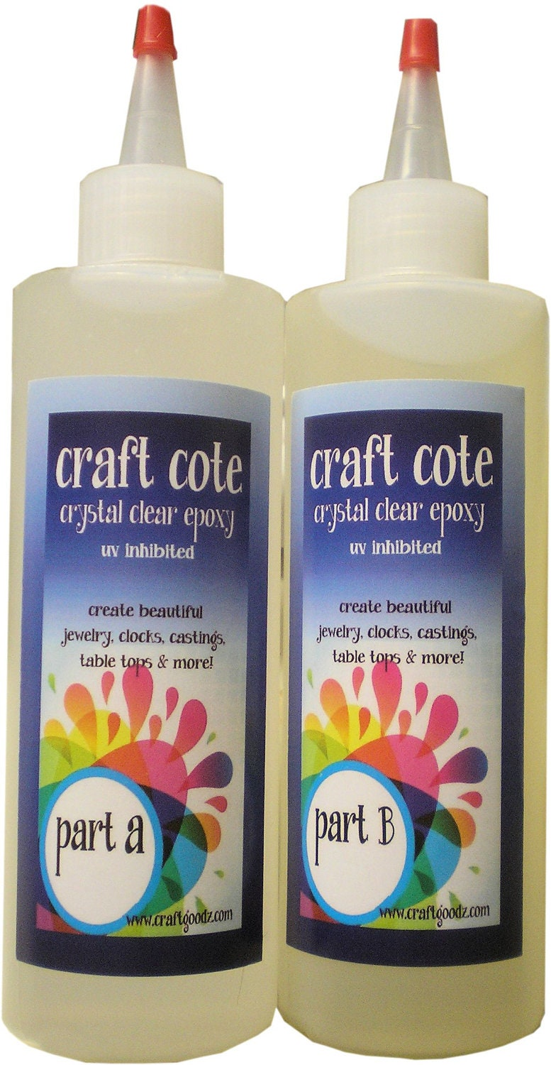 Aqua Clear Craft Cote Epoxy Resin Jewelry Or Crafts By