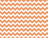 Small Orange Chevron: Riley Blake Designs - 1 Yard Cut