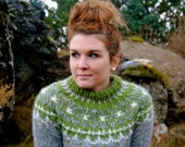 Bragi Icelandic Sweater - Handmade with 100% Pure Icelandic Wool