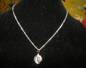 Black pearl wrapped necklace