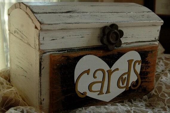 Treasure box for wedding cards