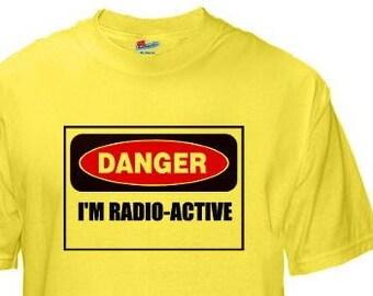 HAM RADIO Tee SHIRT - Custom printed Choice of Sayings & Callsign - Unisex Sizes  P13