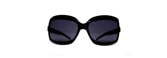 Black Fly Shades 90s Vintage Oversized Sunglasses - Bono U2
