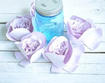 Pink  Paper Flowers- Wedding Flowers