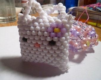 Hello Kitty 3D Kandi Cuff