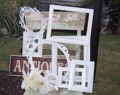 Farmhouse Distressed Frame, NURSERY, Wedding, Vintage Collection