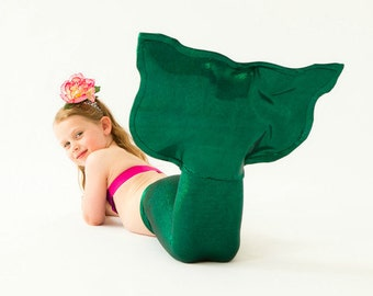 Green Mermaid Tail for Girls