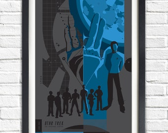 The Original Star Trek Series - Spock - 19x13 Poster