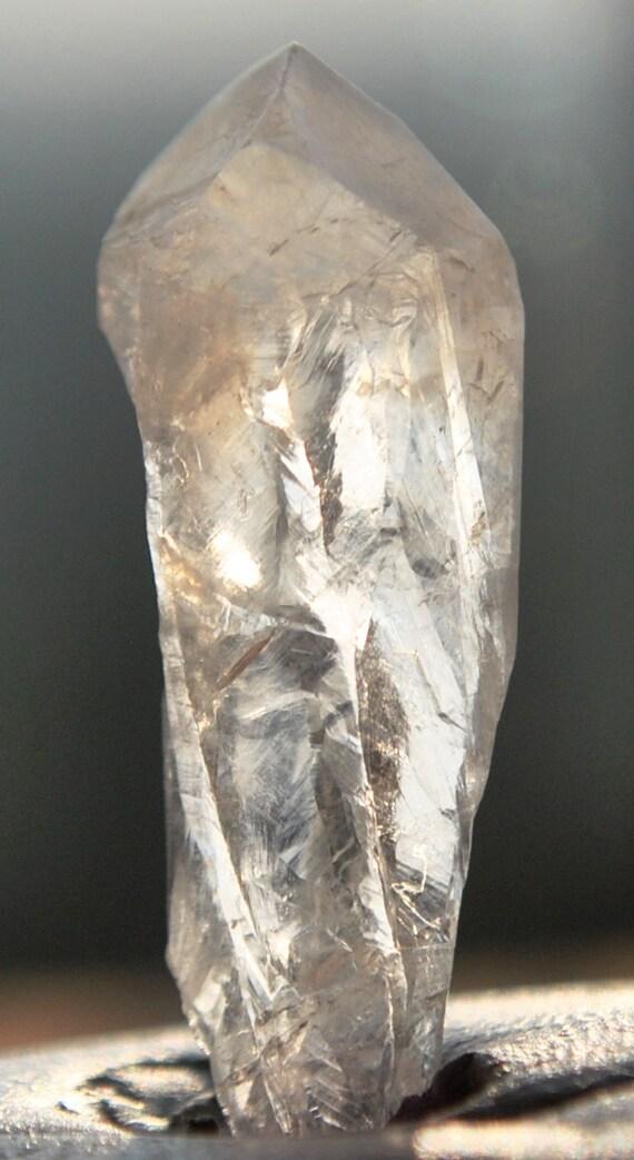 Satyaloka  quartz High frequency synergy 12 crystal Azeztulite ''sat-chit -ananda  10 cts.3374