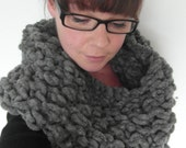 Super luxurious chunky knit neck warmer