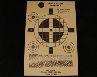 Vintage SighterTarget no. 4 by Sears