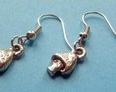Toadstool Earrings by Bee Hootie