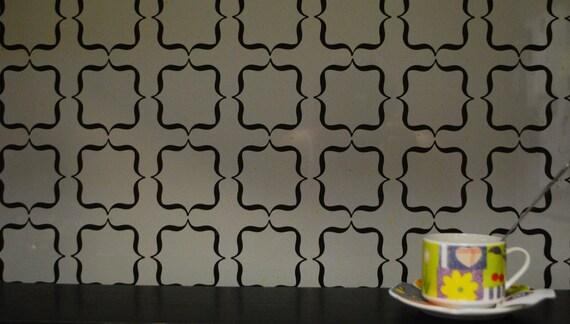 Dosseret de vinyle vinyle Wall Decal dosseret par DecalsEnFolie