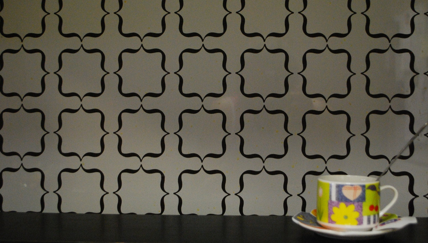 Vinyl backsplash. fancy fix vinyl peel and stick decorative ...