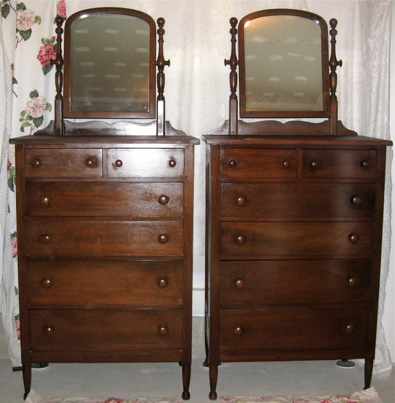 Vintage Antique Highboy Dresser Only 1 Left
