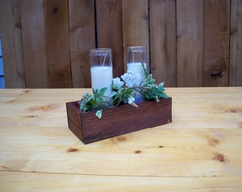 Decorative Wood Box Center Piece, Table Centerpiece,Kitchen Centerpiece, Wood Box, Party Table Center Piece, Decorative Wood Boxes,