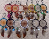 Custom Handmade Dreamcatcher- 2 1/4 in