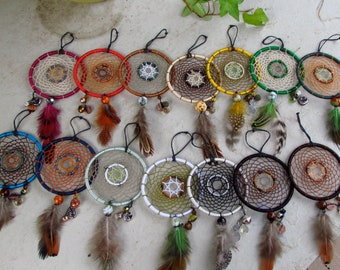 Custom Handmade Dreamcatcher - 3 in.