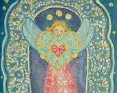 Wings of joy - Art Print 21 x 30 cm/ 8,3 x 11,8 in