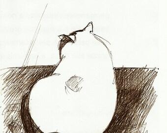 Blanco - Original Drawing