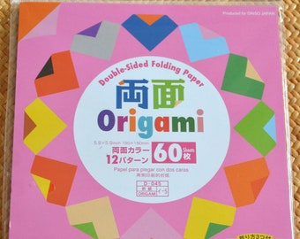 60 Sheets Double-Sided Origami Folding Paper