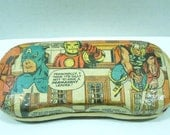 Avengers Glasses Case-FREE Shipping-OOAK Upcycled Case-1960's Comic Books