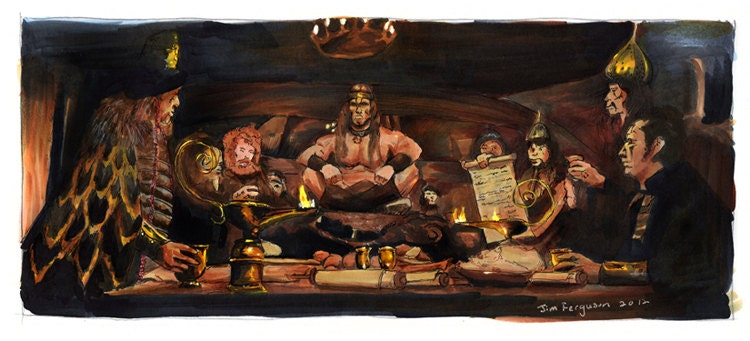 Conan The Barbarian Crush Your Enemies Poster Print
