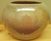 Wood fired vase in Red shino glaze....