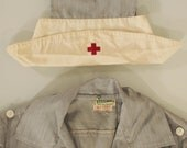 SALE  Amazing - Full 1940s Red Cross Nurse's Uniform