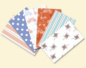 Children at Play Flannel Fabric Bundle by Michael Miller  - 100% Cotton Flannel - 6 yards total