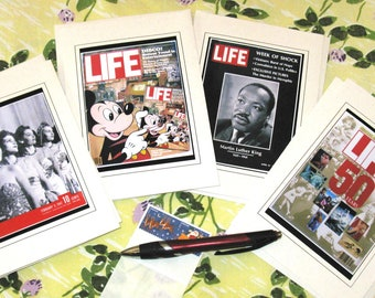 That's LIFE Magazine Blank Notecard Set of 4